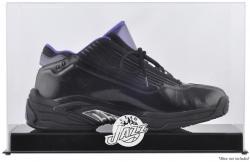 Utah Jazz Team Logo Basketball Shoe Display Case