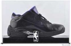 NBA Logoman Basketball Shoe Display Case