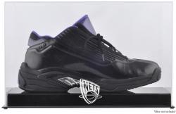 New Jersey Nets Team Logo Basketball Shoe Display Case