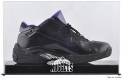 Denver Nuggets Team Logo Basketball Shoe Display Case