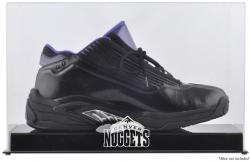 Denver Nuggets Team Logo Basketball Shoe Display Case