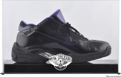 New Orleans Pelicans Basketball Shoe Logo Display Case