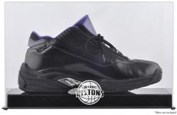 Detroit Pistons Team Logo Basketball Shoe Display Case