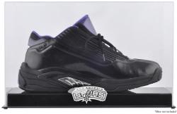 San Antonio Spurs Team Logo Basketball Shoe Display Case