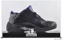 Minnesota Timberwolves Team Logo Basketball Shoe Display Case