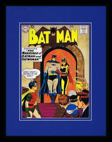 Batman #122 Framed 11x14 Repro Cover Display DC Batwoman Marriage