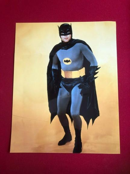 "BATMAN, 16"" x 20""  Glossy Color Photo (Vintage)  ZAP!!  POW!!"