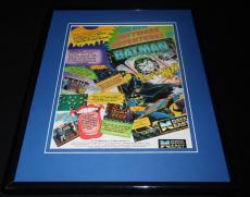 Batman 1989 Commodore 64 11x14 Framed ORIGINAL Vintage Advertisement Data East