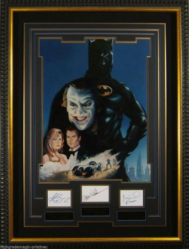 BATMAN 1989 Original Prototype Poster (EXTREMELY RARE) The ONLY Copy Produced