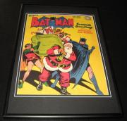 Batman #27  Framed 10x14 Cover Poster Photo DC Comics w/ Santa Claus