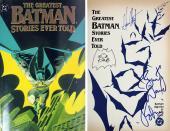 Batman (3) West, Ward & Kane Signed Greatest Batman Stories Ever Told Book BAS