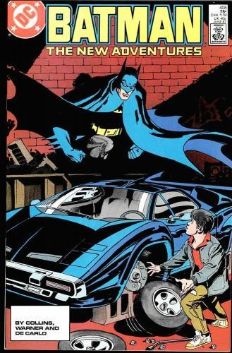 Batman #408 Ungraded Nm/m 1987 Oker Appearance