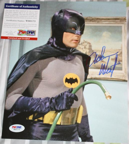 BATMAN Adam West signed 8 x 10, Family Guy, PSA/DNA2