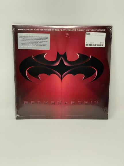 BATMAN AND ROBIN SOUNDTRACK OST 2xLP VINYL RECORD STORE DAY 2020 RSD RED/BLUE