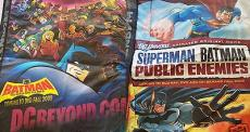 Batman Brave & Bold Superman Batman Public Enemies 2009 Comic-Con SDCC promo bag