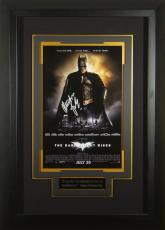 Batman Dark Knight Rises Chrisitan Bale Signed 11x17 Poster