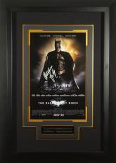 Batman Dark Knight Rises Chrisitan Bale Signed 11x17 Poster