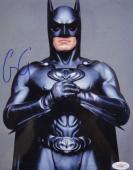Batman George Clooney Signed 8x10 Autographed Photo JSA