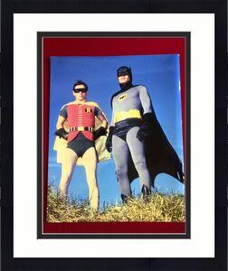 "BATMAN & ROBIN, 16"" x 20""  Glossy Color Photo (Vintage)"