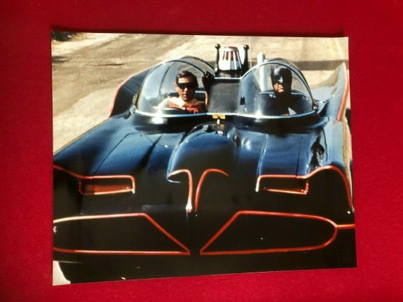 "BATMAN & ROBIN, 16"" x 20""  Glossy Color Photo (Vintage)  ZAP!!  POW!!"