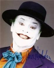 BATMAN signed JACK NICHOLSON - the joker