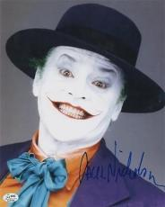 BATMAN signed JACK NICHOLSON the joker - RIDDLE ME THIS - authenticated