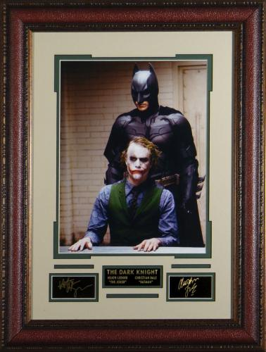 The Dark Knight - Laser Engraved Signature Wall Decor