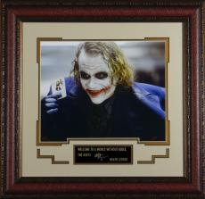 Heath Ledger as the Joker Replica Autographed Display