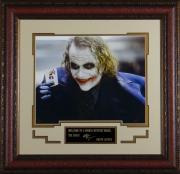 Heath Ledger as the Joker Replica Autographed Display