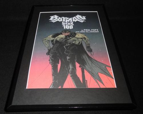 Batman Year 100 DC Framed 11x17 Cover Photo Poster Display Official Repro