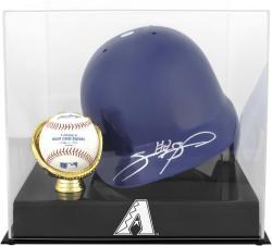 Arizona Diamondbacks 2007 Batting Helmet with Ball Logo Case