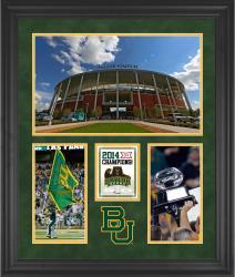 "Baylor Bears 2014 Big 12 Football Champions Framed 20"" x 24"" Collage"