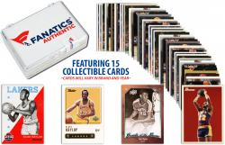 Elgin Baylor Los Angeles Lakers Collectible Lot of 15 NBA Trading Cards