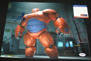 BAYMAX Scott Adsit signed 11 x 14, Big Hero , Disney, PSA/DNA