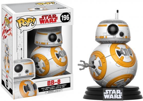 BB-8 Star Wars The Last Jedi #196 Funko Pop!