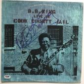 B.B. bb king signed album live in cook county jail autographed psa dna coa