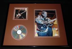 BB King 16x20 Signed Framed CD & Photo Display JSA