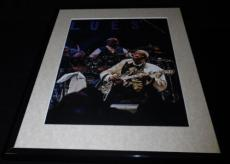 BB King 2013 House of Blues Concert Framed 11x14 Photo Display
