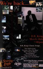 B.B. King & All Band Members/Crew Members Signed Poster – JSA