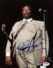 B.B. King Autographed Signed 8x10 Photo PSA/DNA #S01464