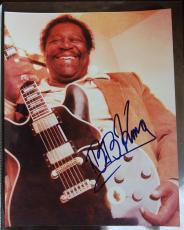 BB KING B.B. Blues Legend Signed Autographed 8x10 Publicity Promo Photo Flawless