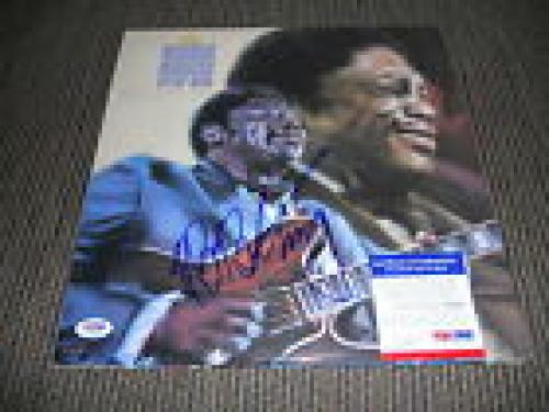 BB King Blues IP Signed Autograph King Of The Blues 1989 Album  LP PSA Certified