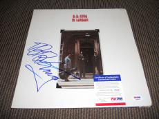 BB King Blues IP Signed Autographed In London Album  LP PSA Certified