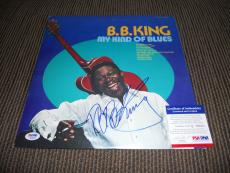 BB King Blues IP Signed Autographed My Kind Of Blues Album LP PSA Certified