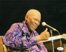 BB King Blues Legend Autographed Signed 8x10 Photograph (JSA) Deceased RARE!
