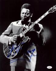 B.B. King Blues Legend Signed 11X14 Photo Autographed JSA #E46607
