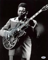 B.b. King Blues Legend Signed 11x14 Photo Autographed Psa/dna #h12230