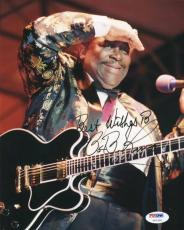 B.B. King Blues Legend Signed 8X10 Photo Autographed PSA/DNA #U01326