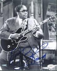 B.b. King Blues Legend Signed 8x10 Photo Slightly Creased Jsa #e46294