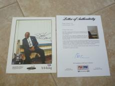 BB King Blues Live Signed Autographed 8x10 Photo PSA Certified #5